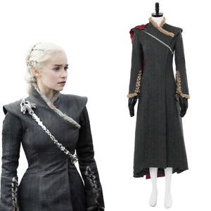 Game of Thrones Season 7 Daenerys Targaryen Dany Dragonstone Outfit Gown Dress