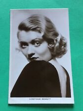 Film Actress Constance Bennett -  Real Photo Card