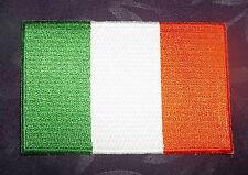IRISH FLAG PATCH IRELAND bratach na hÉireann EMBROIDERED PATCH  Fáilte Isteach