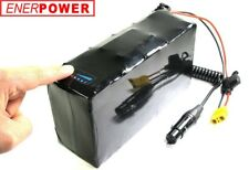 ENERpower Softpack Akku Li-Ion 36V 35E 10,05Ah Pedelec eBike DiY 10x3 3XLR LED