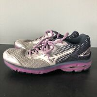 Mizuno Wave Rider 19 Womens Size W 8.5 Running Walking Casual Shoes Sneakers