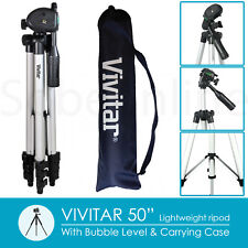 "50"" Travel Tripod for Canon Nikon Sony Panasonic Pentax Fujifilm DSLR Camera"