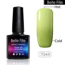 BELLE FILLE Temperature Mood Color Change Nail Gel Polish Soak-off Chameleon UV