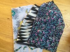 3X Scarves Floral Prints and Geometric Print < T498