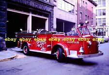 Fire Apparatus Slide Pittsburgh PA Fire Dept Engine X30 American LaFrance PA58