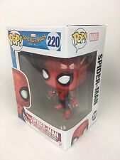 FUNKO POP! MARVEL #220 Spiderman Spider-Man Homecoming Figure (AVAILABLE NOW)