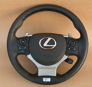 Lexus IS 2014 super Rare F Sport Steering Wheel Multi Function / Shift paddles