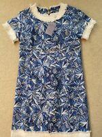 Sail to Sable Women's Blue Sunburst Dress - Size 2 NWT $248