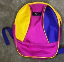 New listing Children's Kids Concourse Pink, Yellow & Purple Backpack