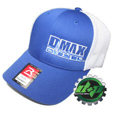 Duramax diesel Richardson 110 DMAX truck hat BLUE Flexfit white mesh back L/XL