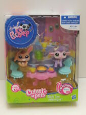 Littlest Pet Shop Snack Time Celebration LPS Pets 2620 Bunny & 2621 Bunny - NEW