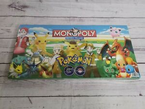 Monopoly Board Game Styled Pokemon Global Edition Sealed custom made