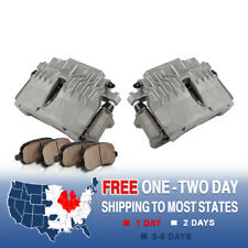 Front Brake Calipers Pads For 1998 1999 2000 2001 2002 Camaro Firebird Trans Am