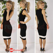 Bodycon Geometric Regular Size Dresses for Women