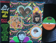 SONNY & CHER - THE BEST OF Very rare Aussie LP Release! Near Mint!