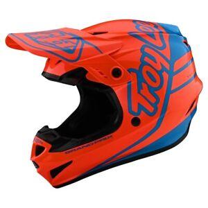 Troy Lee Designs GP Helmet Silhouette Orange / Cyan 10375702