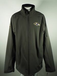 Baltimore Ravens Official NFL Apparel Kids Youth Size Full Zip Jacket New Tags