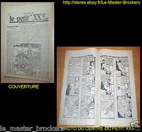 Petit Vingtième (Hergé) Les aventures de Tintin  .. au pays des Soviets (BD)