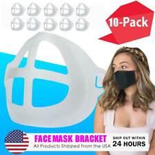 10-Piece Face Mask Bracket, Mask Spacer, 3d Mask Insert Guard Inner Support USA