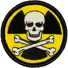 GLOW-IN-DARK! Boy Scout Patches (#657) - Nuclear Pirate Patrol Patch IT GLOWS!!