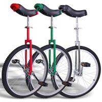 "24"" Wheel Unicycle Uni Cycle Balance Exercise Fun Bike Fitness Scooter Circus"