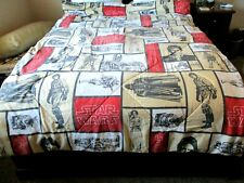 "Star Wars Vintage 1997 Comforter, 87"" X 63"" Twin Reversable Characters/Emblems"