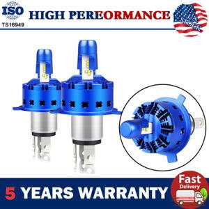2Pcs H4(HB2/9003) LED Headlight 280° 3000LM Bulbs Kit High Beam Headlight 6000K