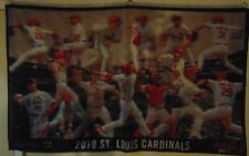 St Louis Cardinals GIANT 2010 Flag Coca Cola Pujols more FREE 1st Class SH