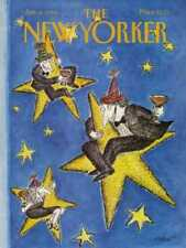 New Yorker COVER 01/04/1988 - New Year Stars - KOREN