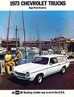 1973 Chevrolet Vega Panel Express Sales Brochure