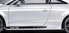 Audi Premium Side Stripes Adesivi TT RS S-line A3 A4 A5 A6 A7 A8 S3 S4 Quattro 1