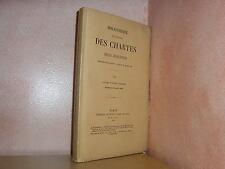 Bibliothèque de l' école des chartes revue d'érudition moyen age  1909 T LXX 5&6