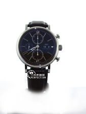 IWC Portofino Chronograh 42mm IW391008 3910-08 Mens Watch Black
