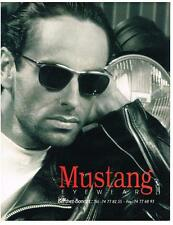 PUBLICITE ADVERTISING   1993    MUSTANG  collection lunettes