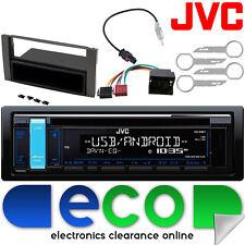Ford Focus ST MK2 04-10 JVC CD MP3 USB Aux Ipod Car Radio Steering Wheel Kit
