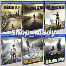 Paquete The Walking Dead Temporadas 1 al 6 Blu-ray ESPAÑOL LATINO Region Free