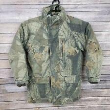 BOYS CABELAS Premier Northern Goose Camo Down Coat Jacket Puffer Parka Medium