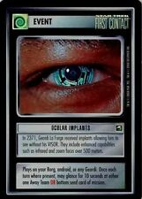 Star Trek CCG Reflections Ocular Implants Very Rare Foil VRF