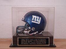 Display Case For Your Patriots Super Bowl 51 Autographed Football Mini Helmet