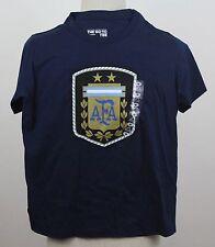 Adidas AFA Argentina National Team Soccer  Climalite Men's   T shirt Size M New