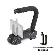 Movo Video Stabilizer Handle Grip for iPhone 6S 5 5S 6 Samsung Galaxy S4 S5 S6