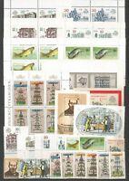 DDR 1987 postfrisch kompletter Jahrgang mit allen  Einzelmarken aus Block + ZD
