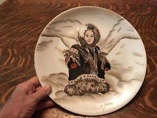 "Kodiac Island Navy Wives Club Vintage 12"" Plate, Craftsman China, Japan"