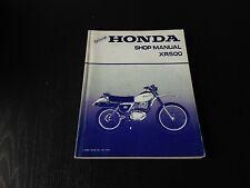 Honda XR 500 XR500 1979 Werkstatt-Handbuch Shop Manual