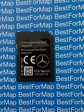 BRAND NEW MERCEDES C/GLC /E /V/ X • CLASS GARMIN MAP SAT NAV SD CARD (A213)