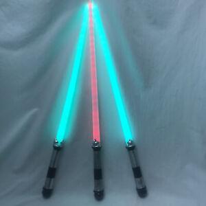 Lot of 3 Laser Light Sabers Halloween Costume Star Wars Jedi Luke Skywalker