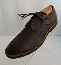 Buks by Walk-Over Declan Derby Mens Brown Leather Lace Up Shoes Size 9