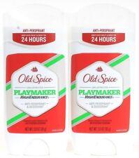 2 Old Spice High Endurance Playmaker 24 Hour Antiperspirant Deodorant 3.0 oz