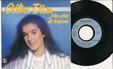 """CELINE DION 45 TOURS 7"""" FRANCE MON REVE DE TOUJOURS"""