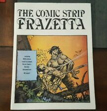 THE COMIC STRIP FRAZETTA  FANZINE 1980 REPRINTS WHITE INDIAN HEROIC COMICS MORE!